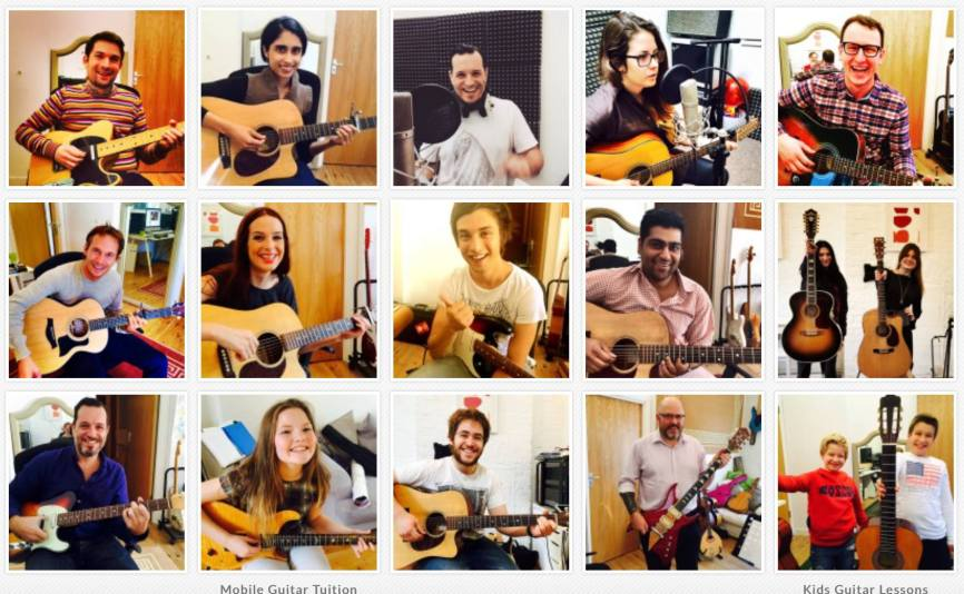Guitar Lessons Tower Hamlets