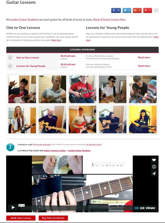 Guitar Lessons Walthamstow E17