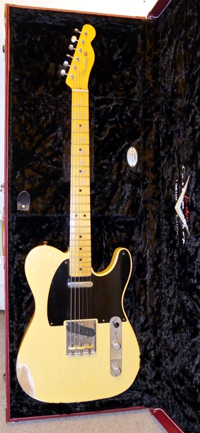 Fender Custom Shop 51 Nocaster Repair Log