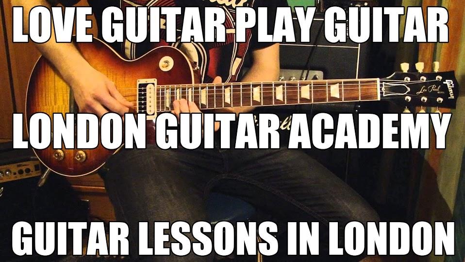 Guitar Lessons London | rock, pop, jazz, funk, blues, folk, classical, songwriting