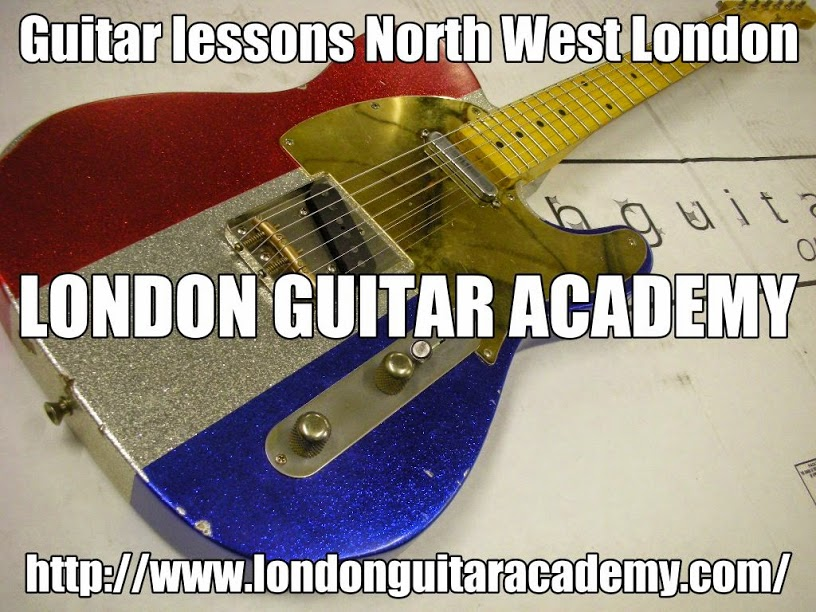 Guitar lessons North West London - Guitar lesson in North West London