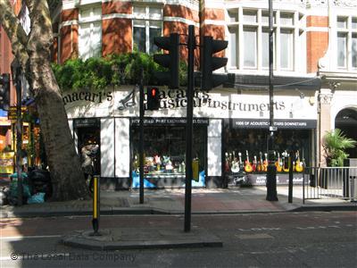 Macaris London Guitar Shop