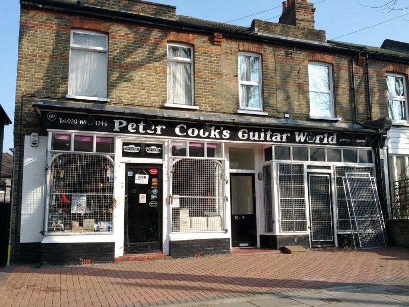 Peter Cook's Guitar World London