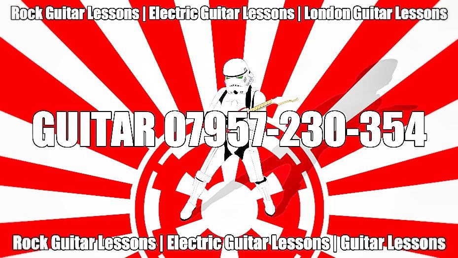 Rock Guitar Lessons - Electric Guitar Lessons - London Guitar Lessons