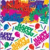 Embossed birthday Blowout Multi Table Confetti