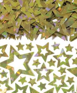 Gold Star Shimmer Table Confetti