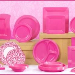 Hot Pink/Fuschia Tableware