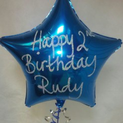 Personalised Plain Foil Balloons