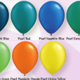 Dark pearl balloon colours for helium balloon bouquets