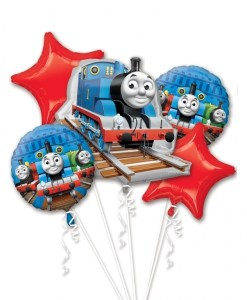 Thomas & Friends Helium Filled Balloon Bouquet