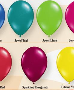 jewel helium balloons