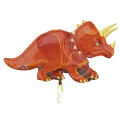 Triceratops Supershape Helium Filled Foil Balloon