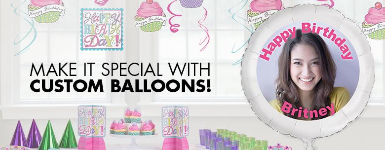 custom balloon