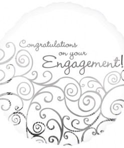 Engagement Congratulations  foil balloon