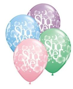 "10 Baby Shower  heaven Helium Filled 11""latex Party Party Balloons"