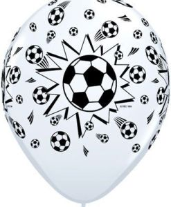 "10 Football theme Helium Filled 11""latex Party Party Balloons"