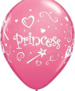 "10 Princess Helium Filled 11""latex Party Party Balloons"