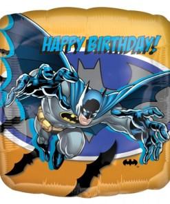 Batman happy birthday Helium Filled Foil Balloon