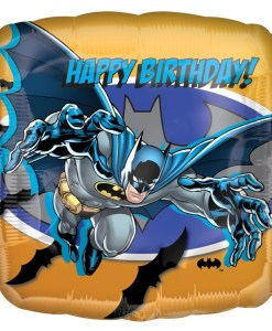 Batman happy birthday Helium Filled Foil Balloon