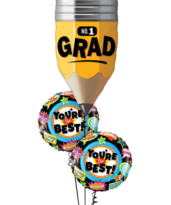 Grad Pencil at London Helium Balloons
