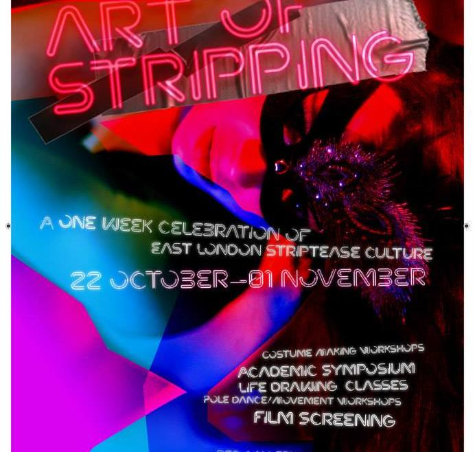 Get ready for the 1st Festival of Stripping!