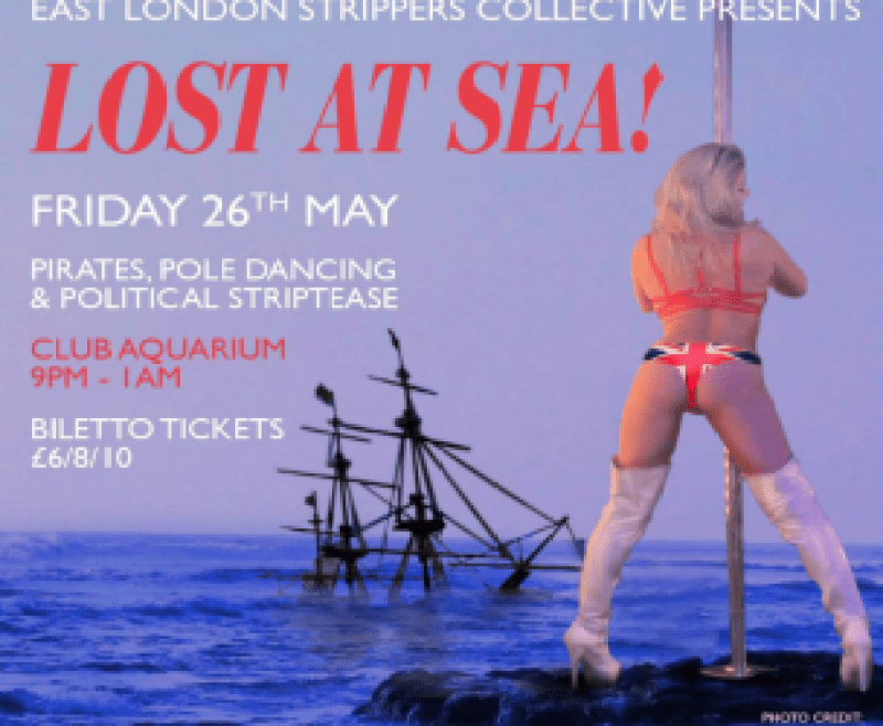 Coming up in May 2017 'ELSC presents… Lost at Sea' party