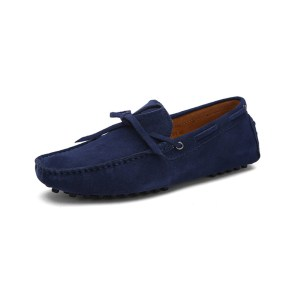 mens navy driving shoes loafers - suede driving shoes chelsea london loafers