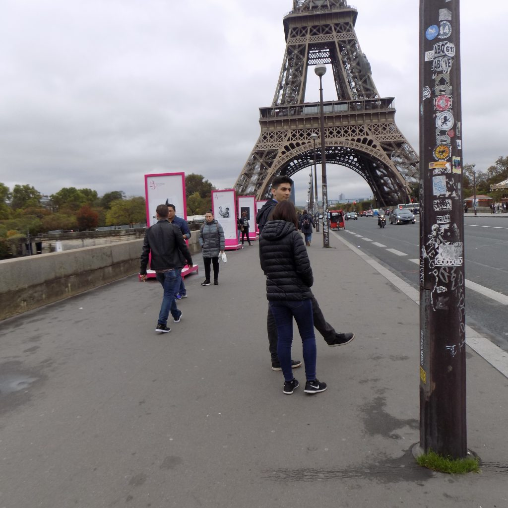 October Paris, Eiffel Tower
