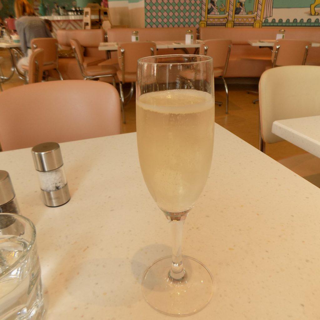 Champagne at Fortnum & Mason
