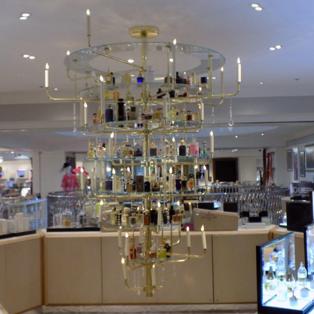 Perfumes at Fortnum & Mason