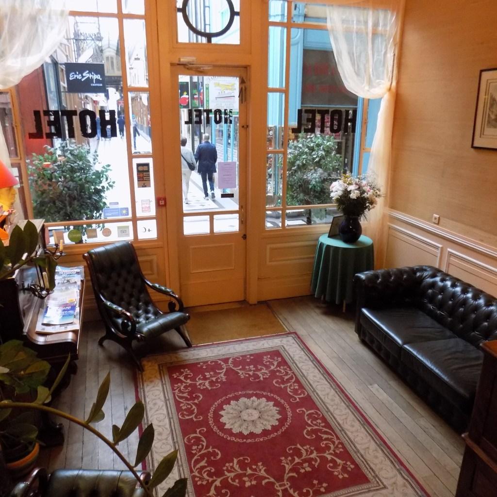 Hotel Chopin lobby