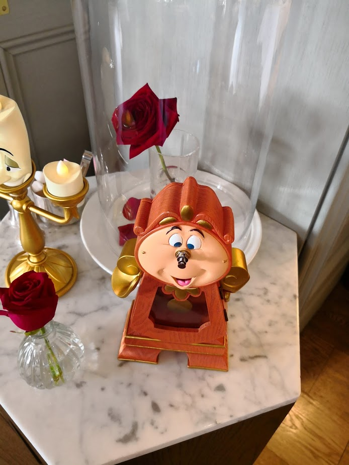 Tale as old as time Cogsworth clock