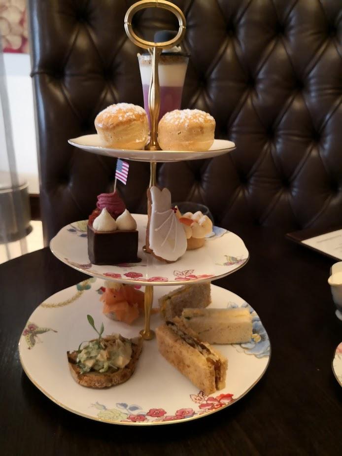 Royal Wedding afternoon tea stand