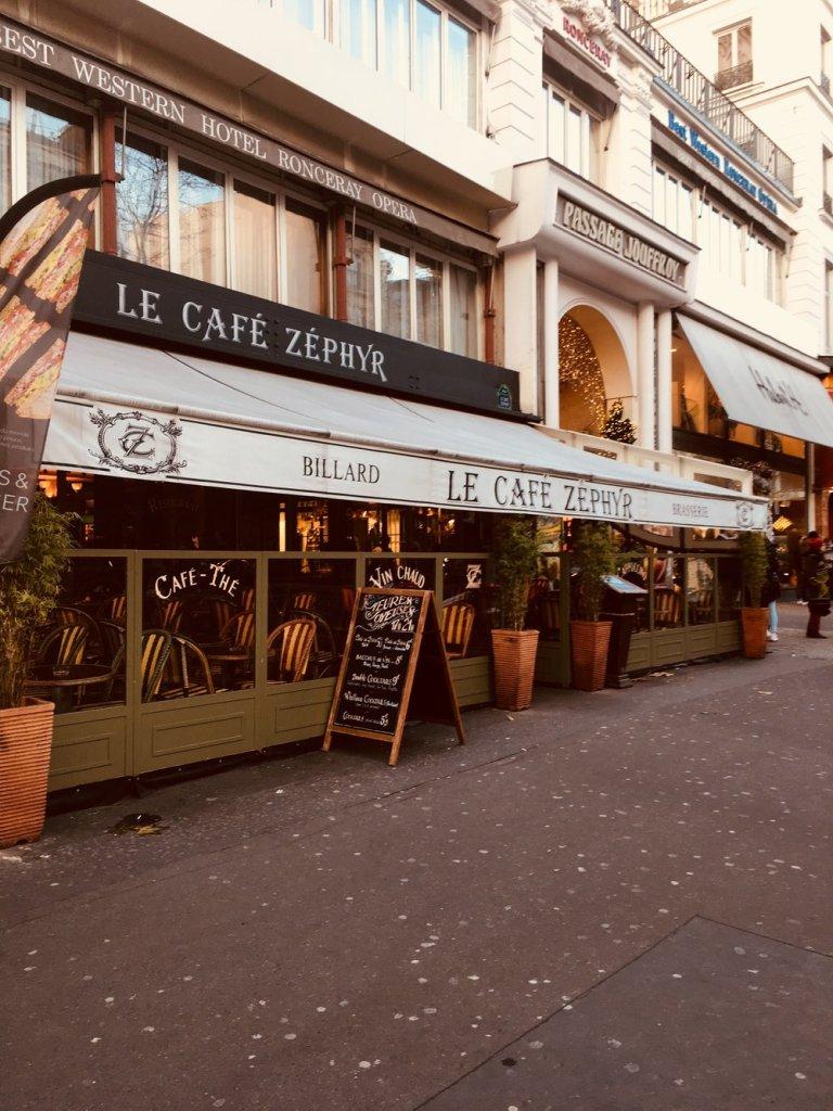 hotel Chopin cafe Zephyr