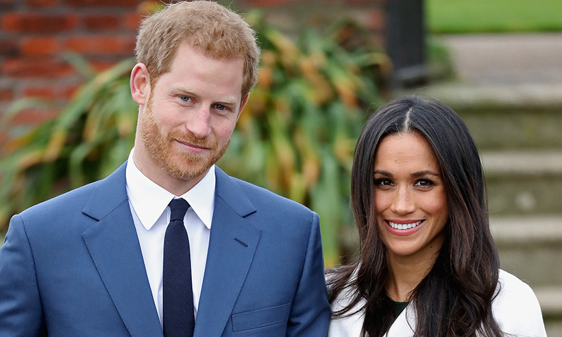 April Prince Harry and Meghan Markle
