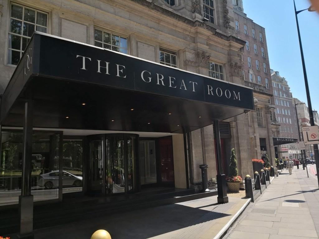 Anna's Afternoon Tea, the Grosvenor House Hotel Great Ball Room