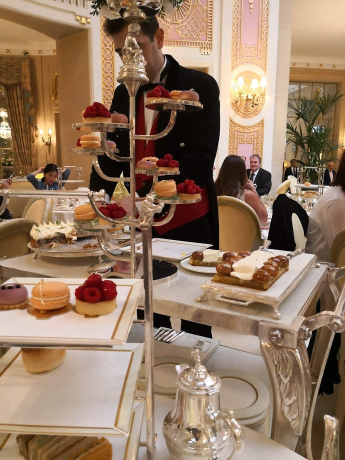 2018 update, tea at the Ritz