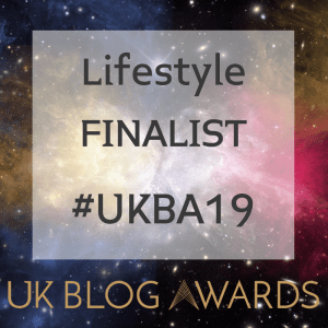 depression UK Blog Awards finalist