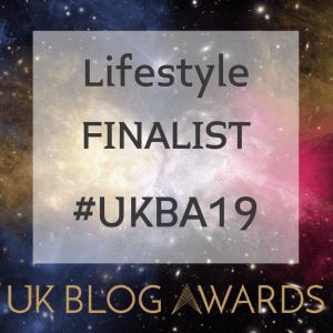 depression UK Blog Awards finalist