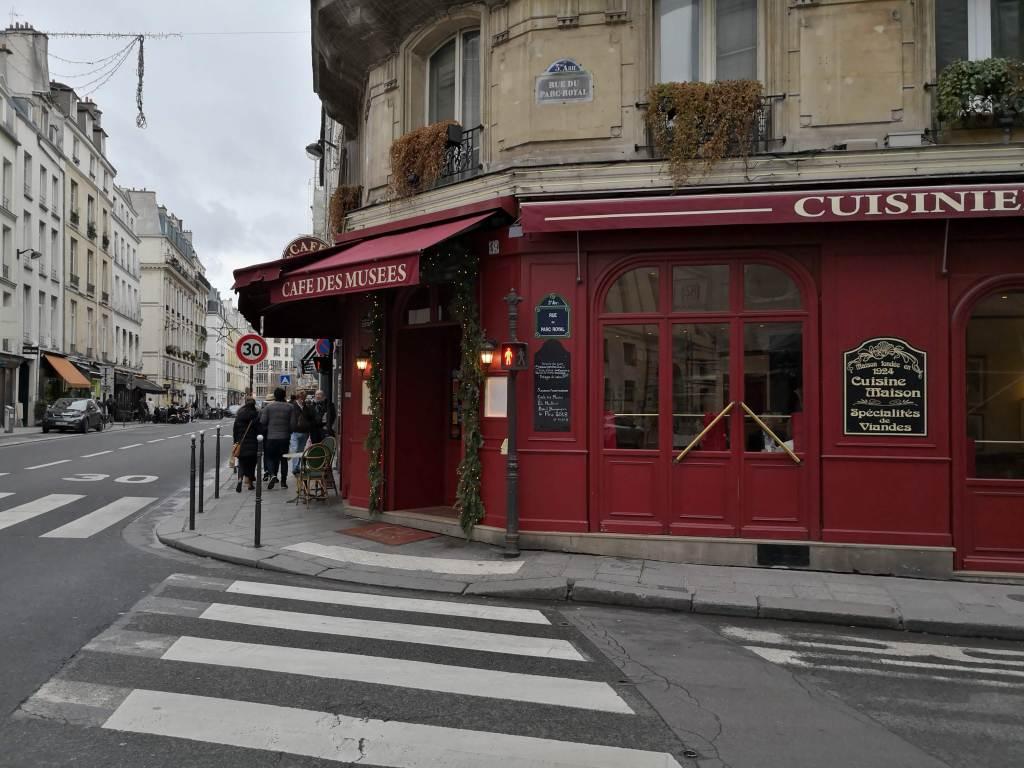 Cafe des Musees Marais