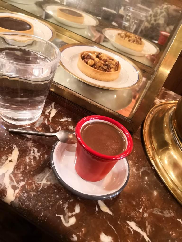 Paris hot chocolate