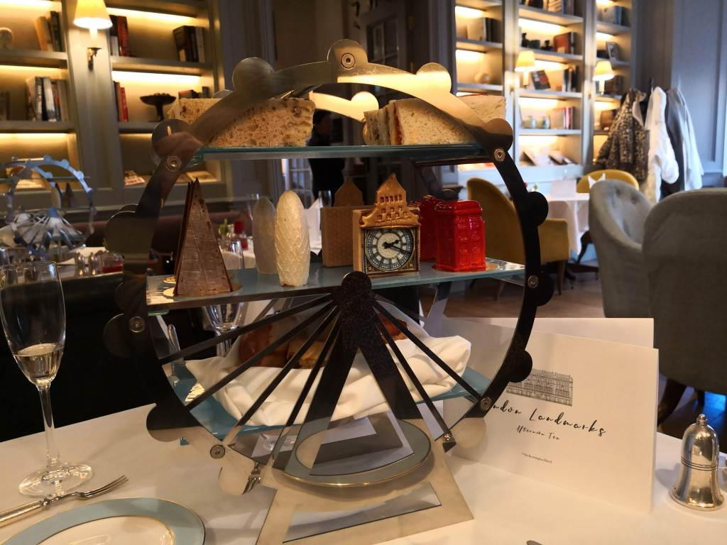 London Lanmarks afternoon tea