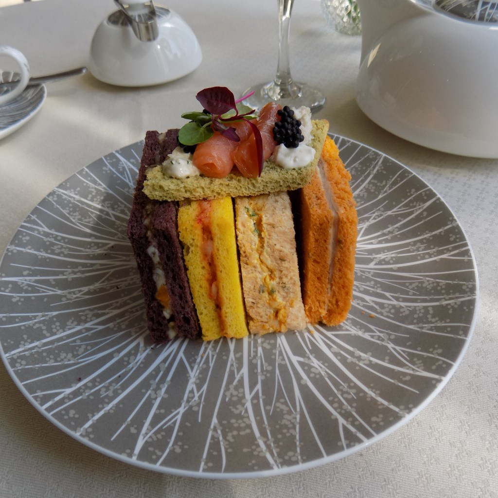 Royal Afternoon Tea sandwiches