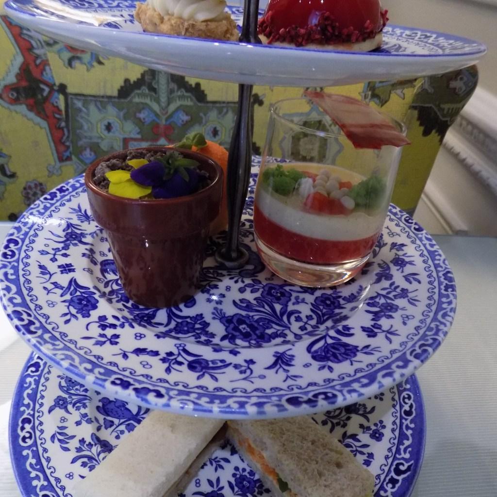 Garden afternoon tea, the cakes