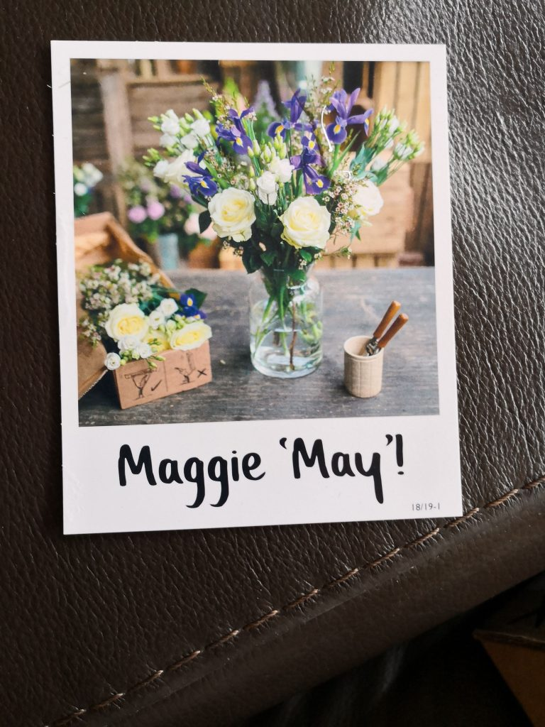 Freddie's Flowers Maggie May bouquet