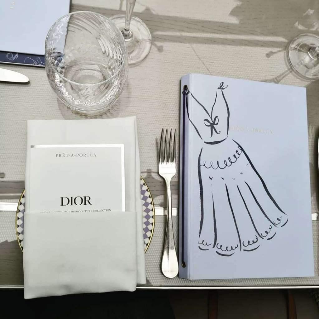 Prêt-à-Portea menu