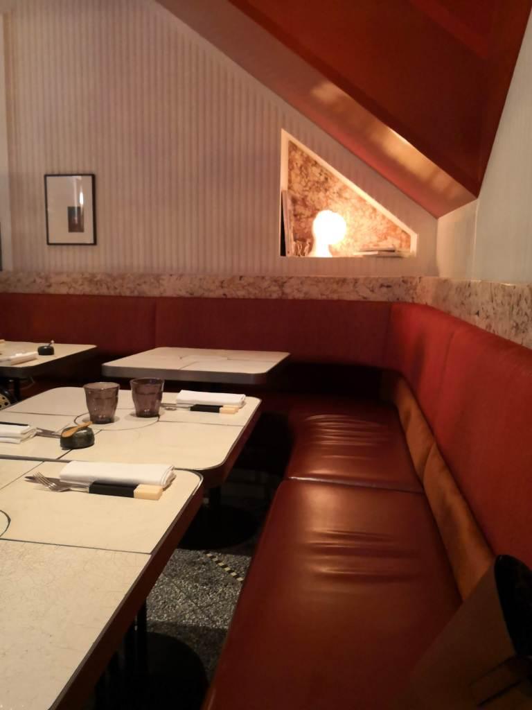 Restaurant Astair inside the restaurant