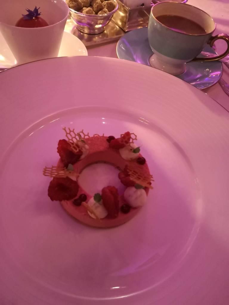 Raspberry & Elderflower Tart
