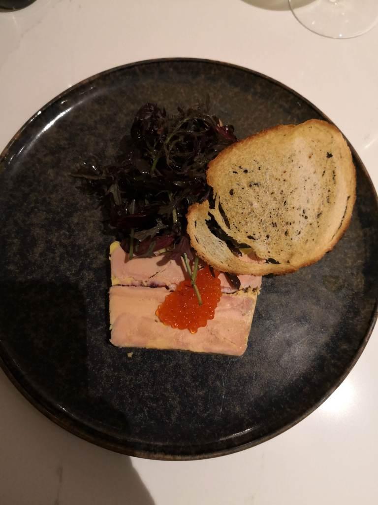 foie gras at Le Celadon