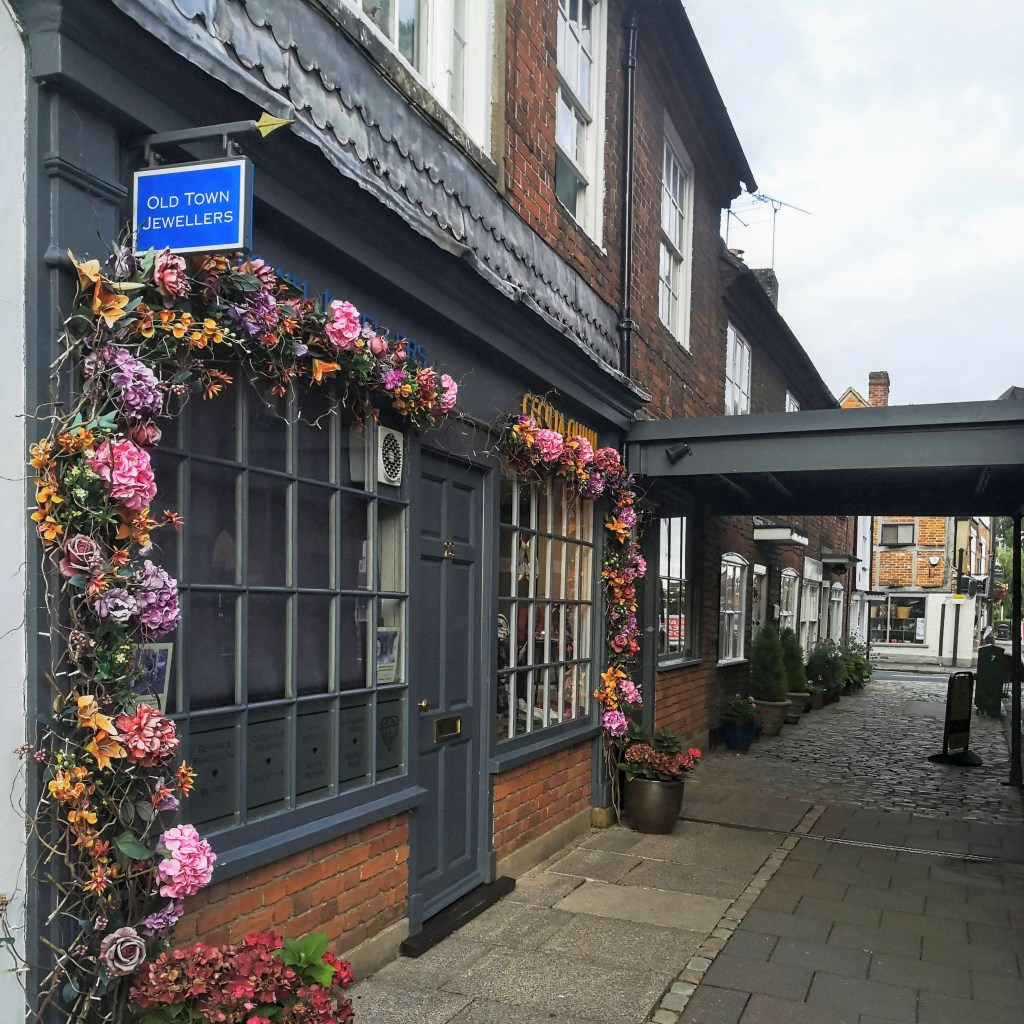 The charming little boutiques of Old Amersham.